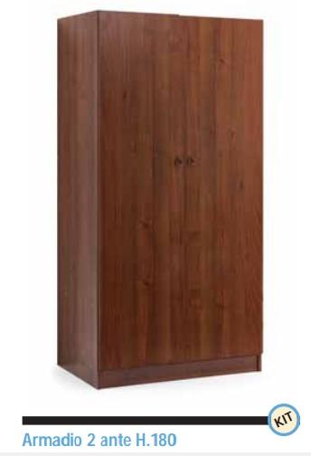PAL-00268 - Armadi in legno - pallantestore - Armadio in legno in ...