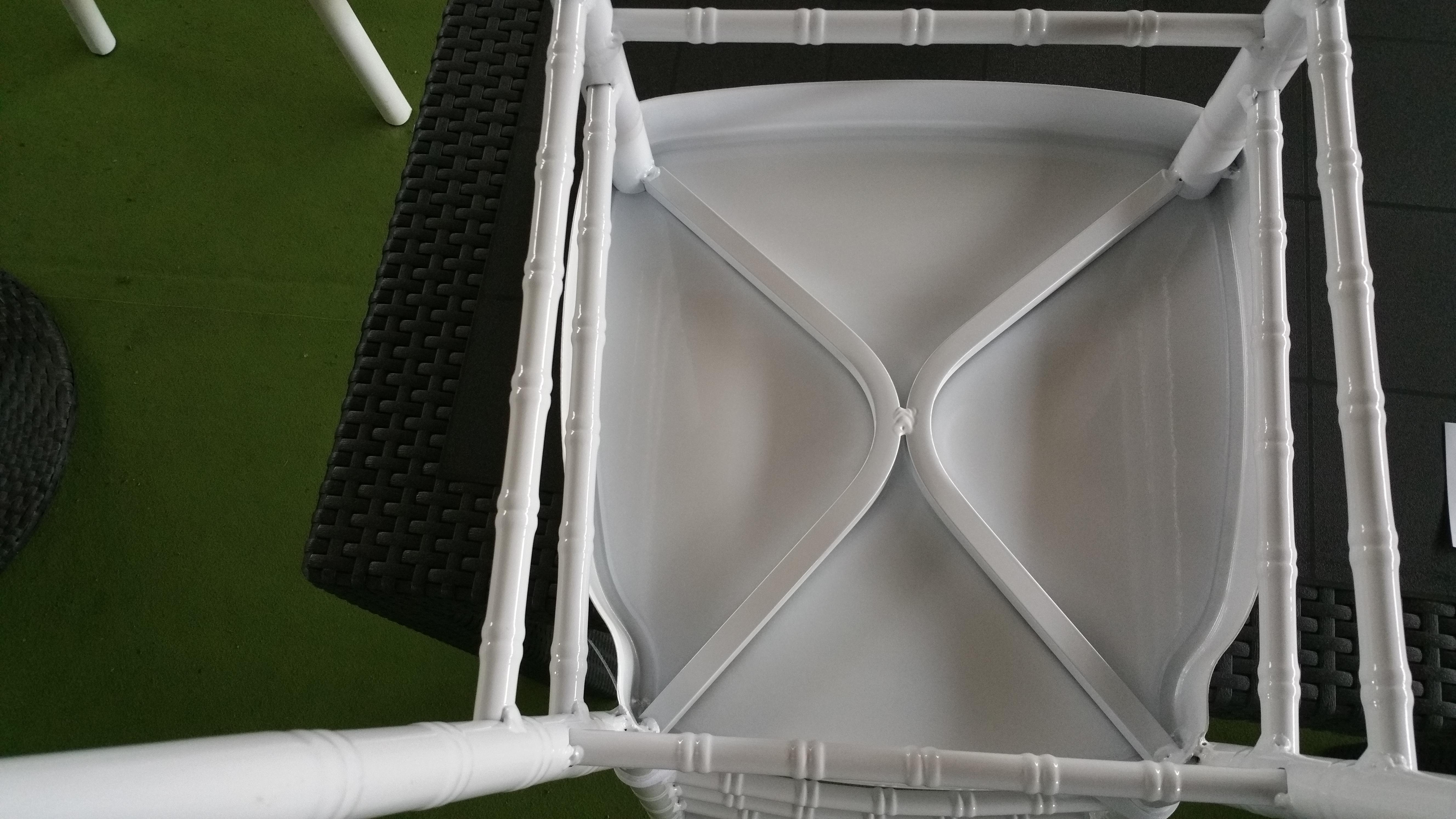 cs0801 - sedie da cucina - pallantestore - sedia in alluminio ... - Cuscini Da Cucina