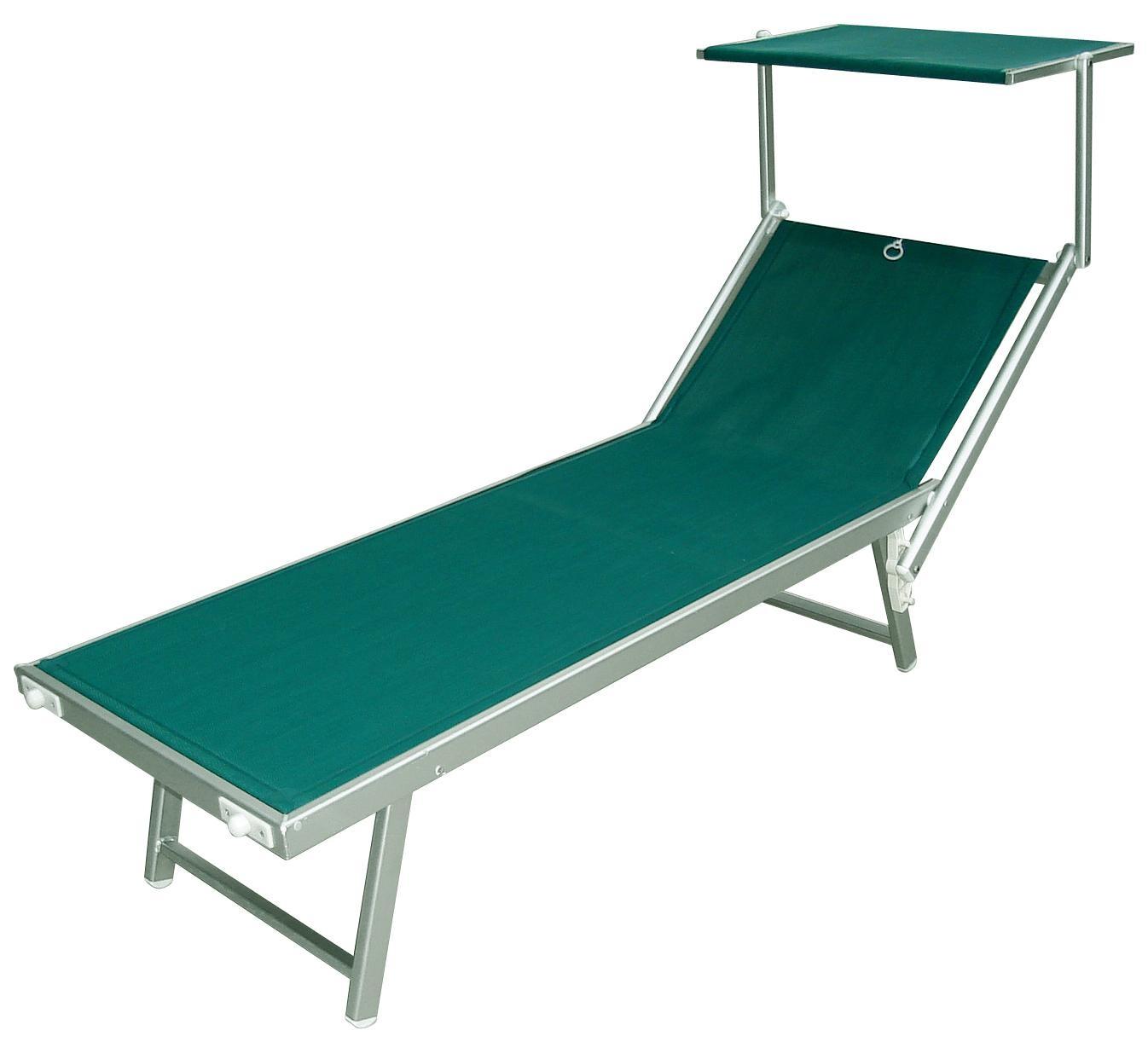 Lettini Da Spiaggia Alluminio.Lettino Sdraio Mare Alluminio Piscina Spiaggia Lido Professionale