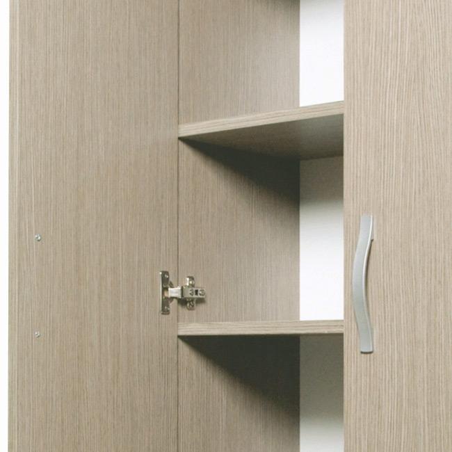 Scarpiera mobile Gabriella in legno kit colore olmo armadio L 71 H ...