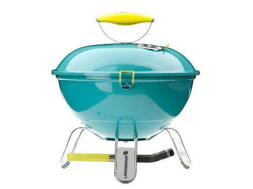 Barbecue LANDMANN 31375 carbonella Blue Tabletop kettle barbecue - 3kg