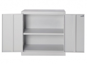 Armadio multiuso metallo mini 2 porte 100x40x102