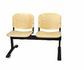 Sedie Metallo E Legno.400776284939 Sedie Mod Attesa Pallantestore Panca Composta Da